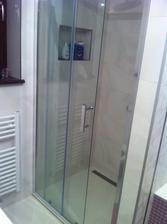 Sprchac konecne hotovy