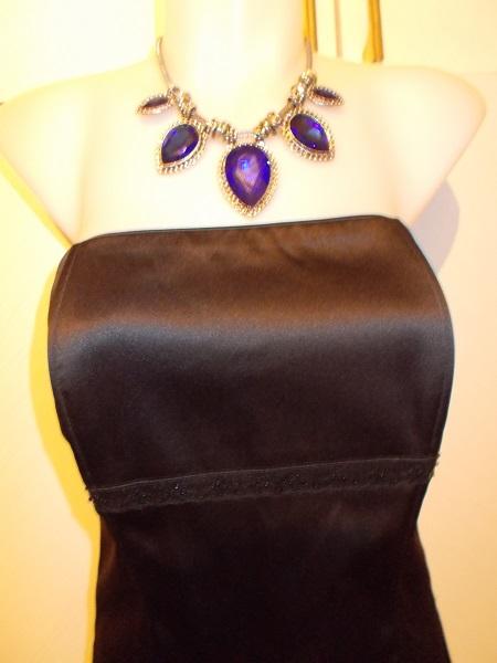 korzetové saténové šaty Chantall veľ, 40 - Obrázok č. 1