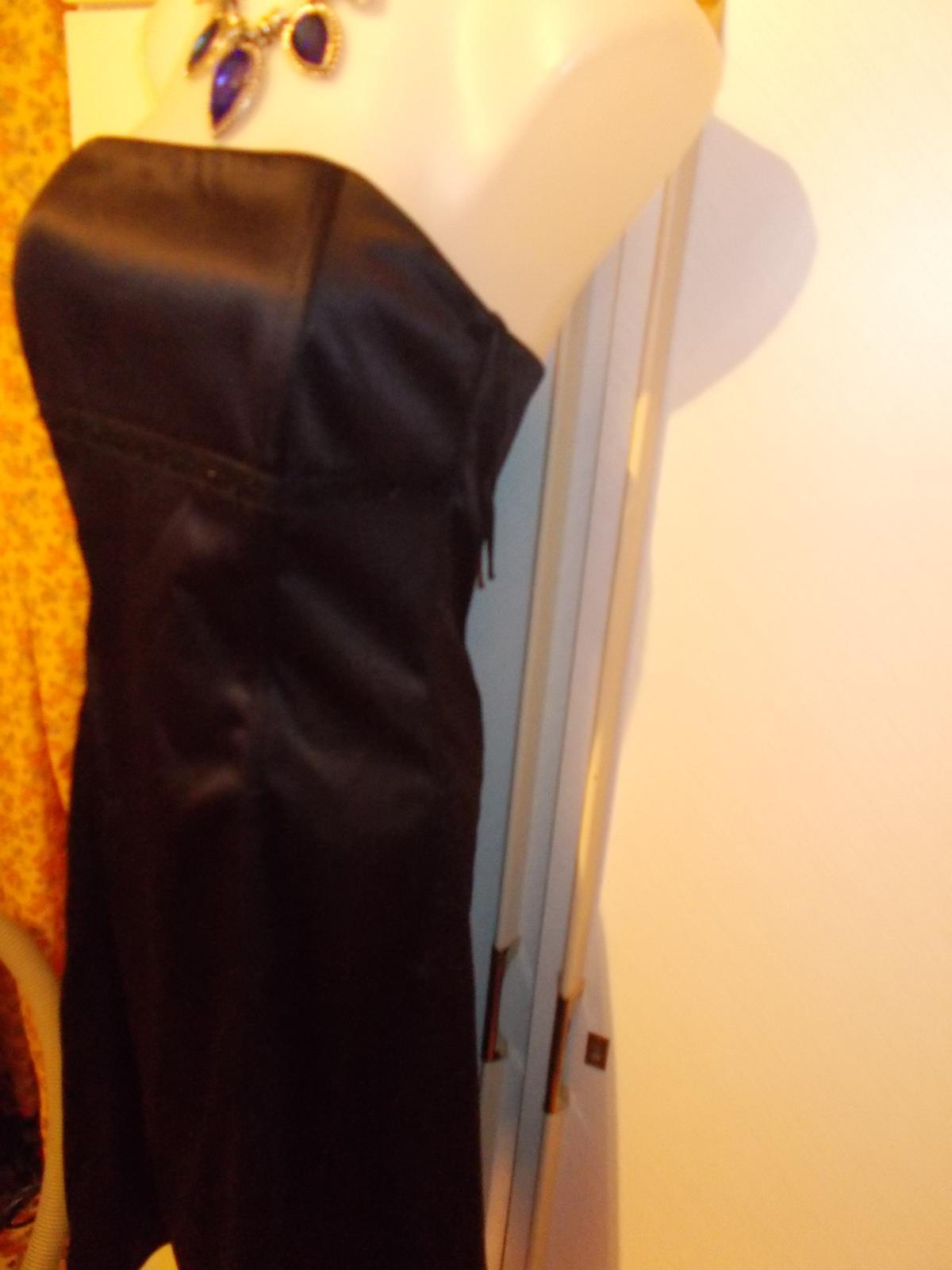 korzetové saténové šaty Chantall veľ, 40 - Obrázok č. 4