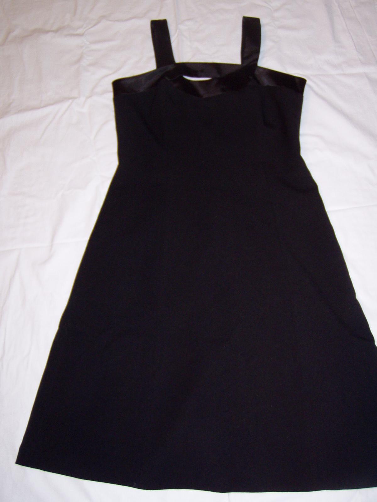 čierne spoločenské šaty Chantal veľ. 40 - Obrázok č. 4