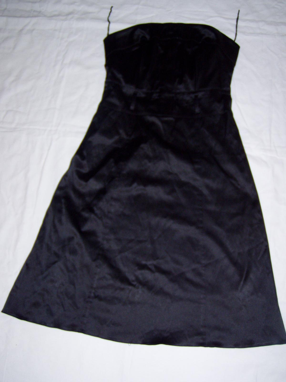 elastické satén. šaty Chantall - Obrázok č. 1