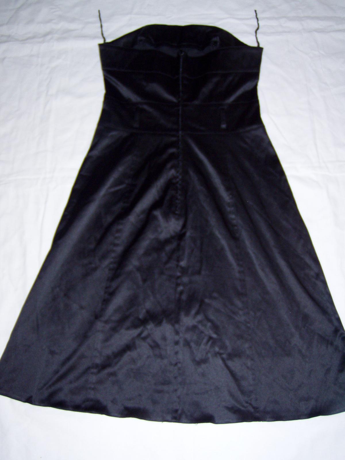 elastické satén. šaty Chantall - Obrázok č. 2