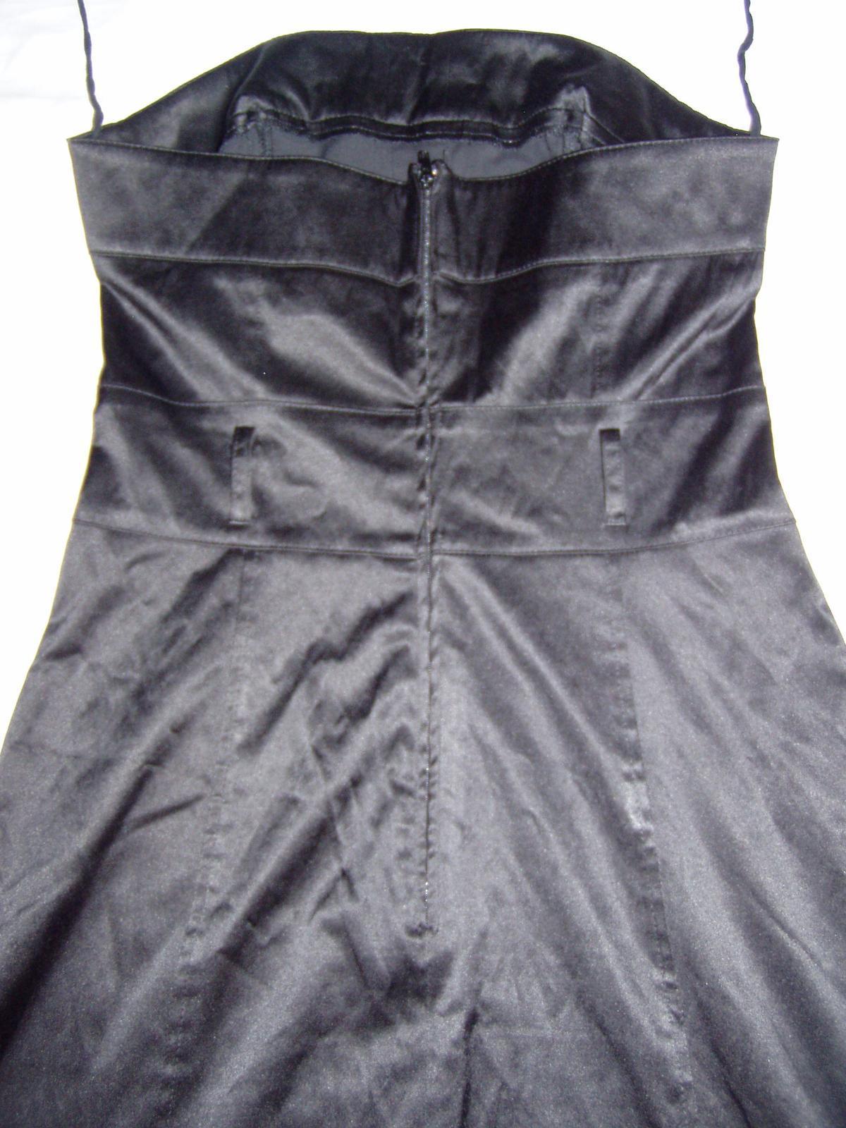 elastické satén. šaty Chantall - Obrázok č. 4