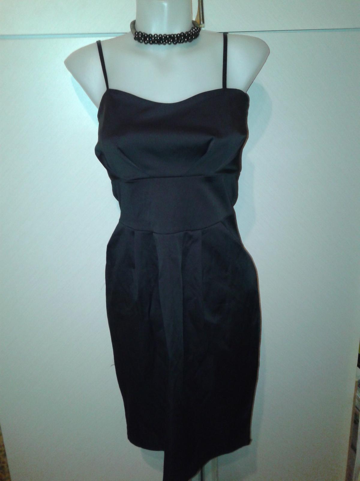 čierne spoločenské šaty Rinascimento veľ. M - Obrázok č. 3