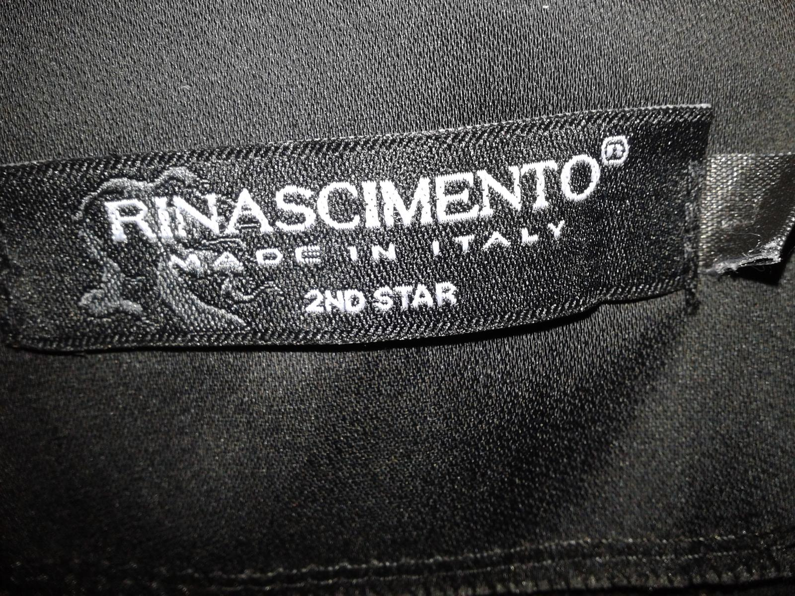 čierne spoločenské šaty Rinascimento veľ. M - Obrázok č. 4