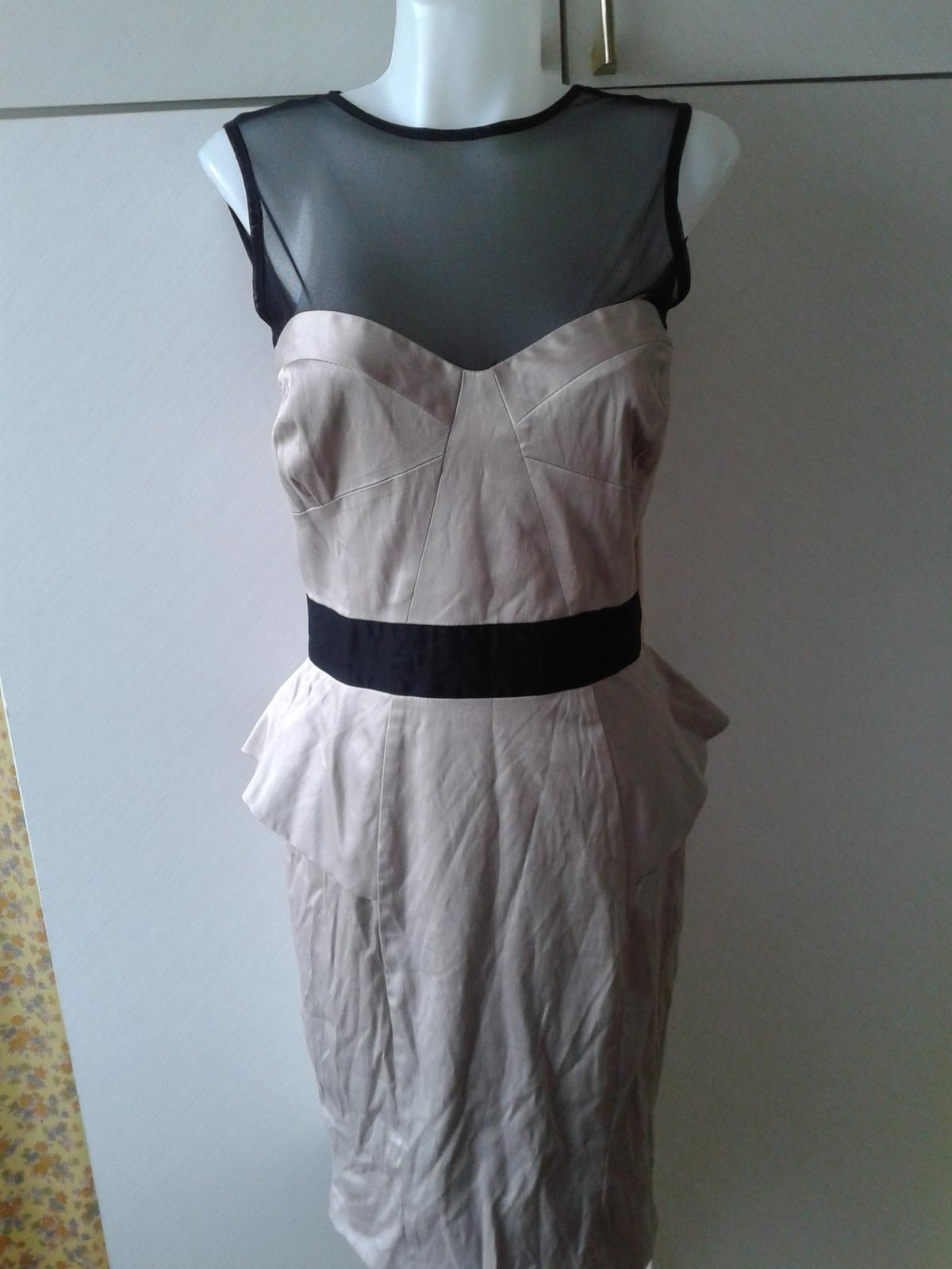 luxusné šaty Jane Norman veľ, 38/40 - Obrázok č. 1