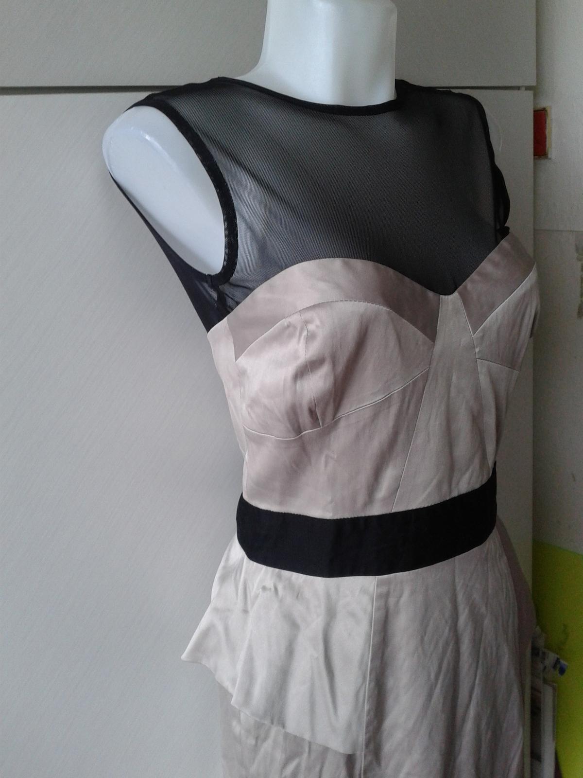 luxusné šaty Jane Norman veľ, 38/40 - Obrázok č. 2