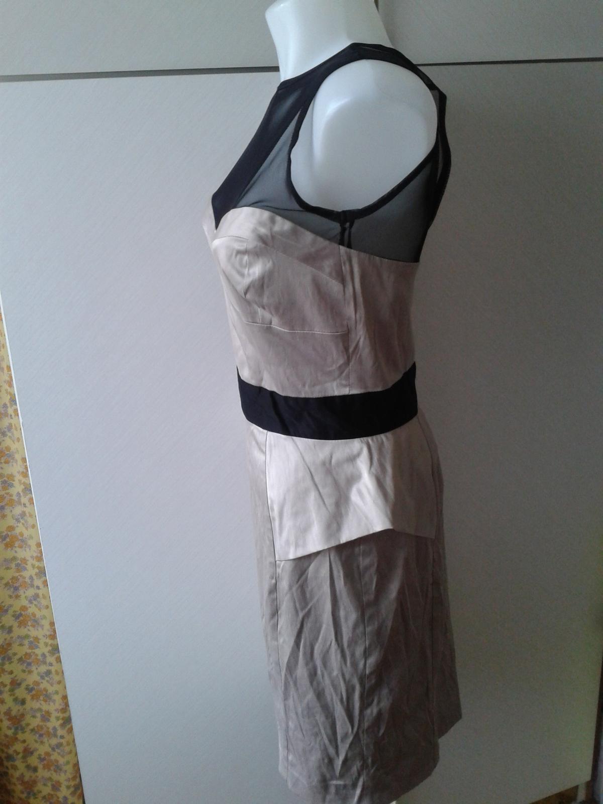 luxusné šaty Jane Norman veľ, 38/40 - Obrázok č. 4