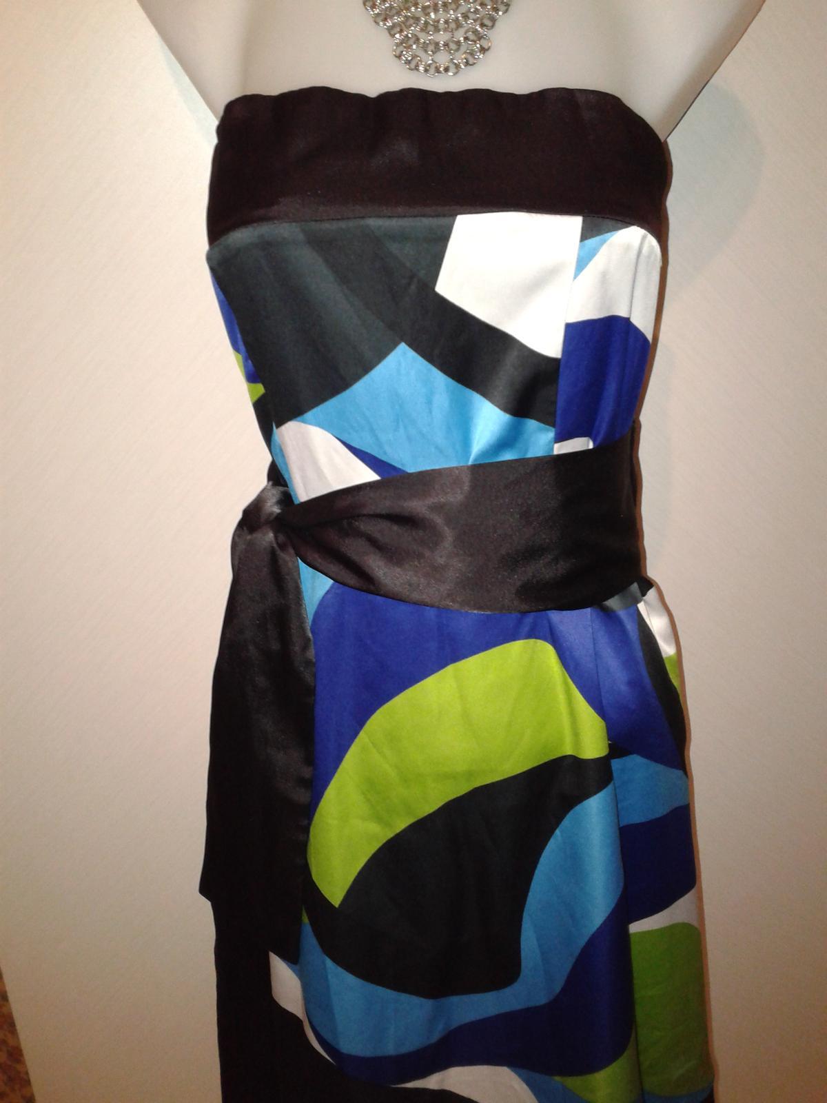 veselé korzetové šaty Orsay veľ. M/38 - Obrázok č. 1