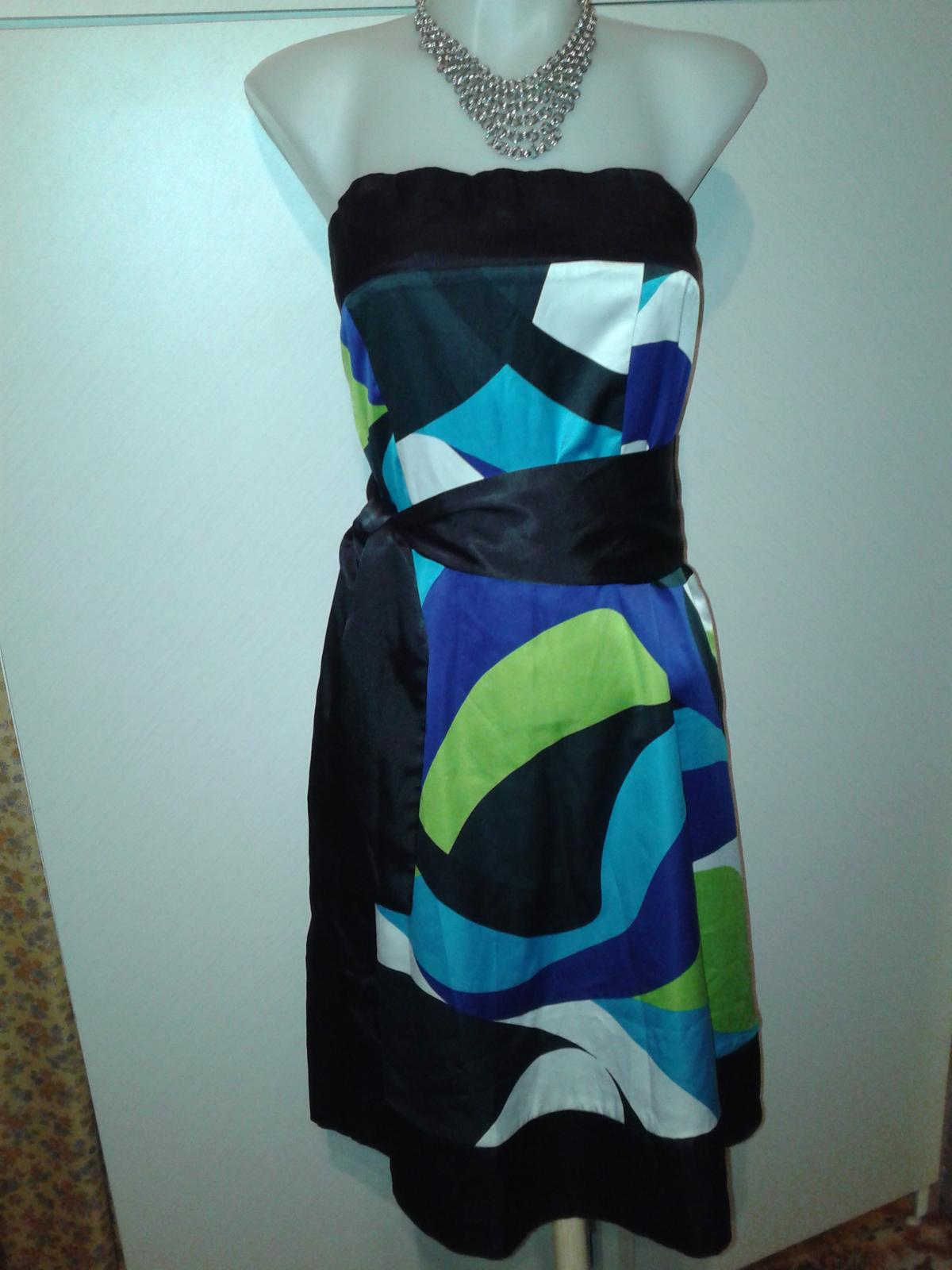 veselé korzetové šaty Orsay veľ. M/38 - Obrázok č. 2
