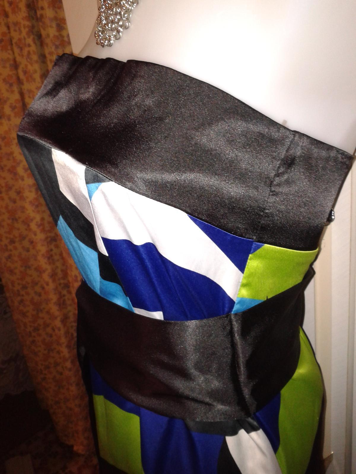 veselé korzetové šaty Orsay veľ. M/38 - Obrázok č. 4