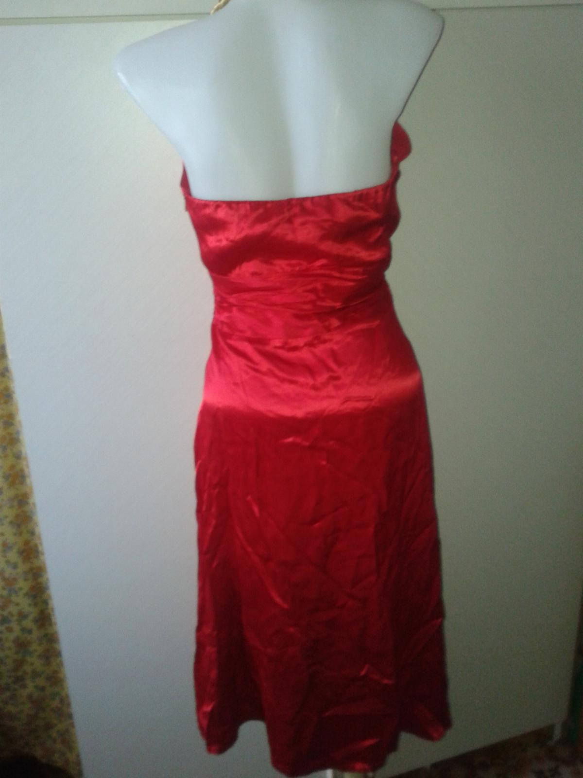 jasnočervené šaty Next veľ, 36/38 - Obrázok č. 4
