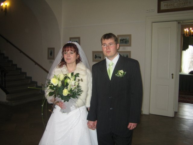 Jana{{_AND_}}Tom - novomanželé