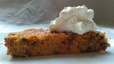 Mrkvový koláč - zdravější verze