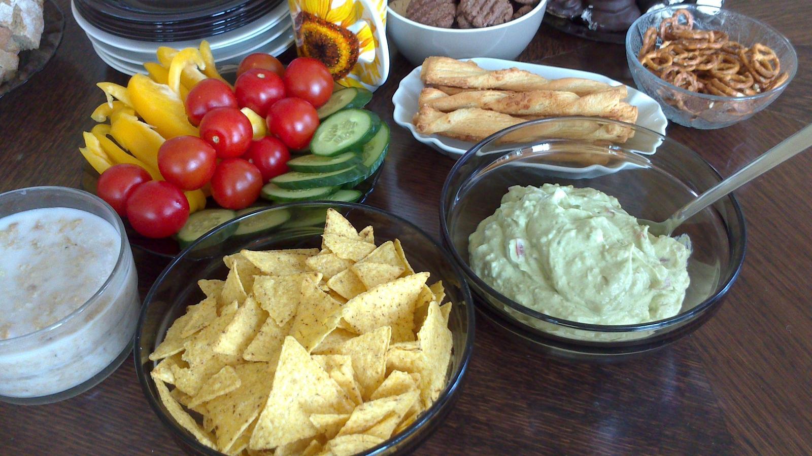 A občas i vařím... - Rillettes a guacamole