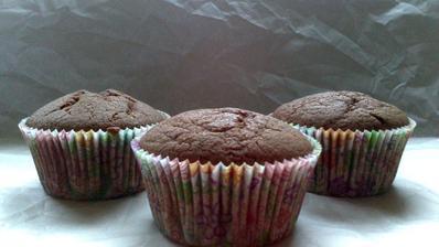 Čoko tvarohové bezlepkové muffiny - rychlé a dobré :)