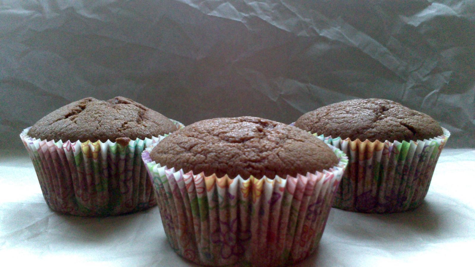 A občas i vařím... - Čoko tvarohové bezlepkové muffiny - rychlé a dobré :)
