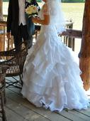 Svadobné šaty Elianna Moore model Bailaza originál, 38