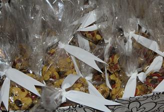 Každý host od nás dostal malé muslli k snídani - jako lék na kocovinu :)