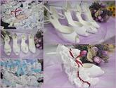 Nabízíme k prodeji bílou i barevnou obuv - zhotovení na zakázku dle přání zákazníka