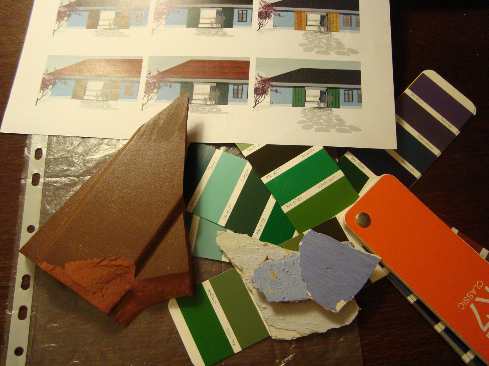 Naša chalupa - vyberáme farbu okien