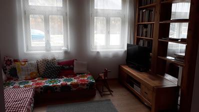 hosťovsko-obývačka skoro hotová
