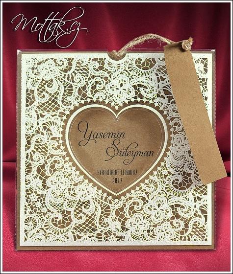 Svatební oznámení z recyklovaného papíru - Svatební oznámení 2686
