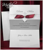 Svatební oznámení 5409 www.mottak.cz,