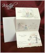 Svatební oznámení 2505 www.mottak.cz,