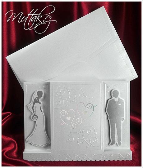 Svatební oznámení 5373 Mottak.cz s.r.o. - Obrázek č. 1