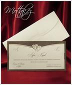 Svatební oznámení 2560 www.mottak.cz,