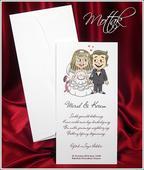 Svatební oznámení 2618 www.mottak.cz,