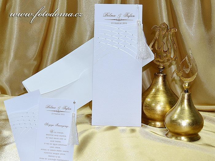 Svatební oznámení 0939 Mottak.cz s.r.o. - Obrázek č. 1