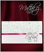 Svatební oznámení 5526 www.mottak.cz,