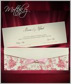Svatební oznámení 5492 www.mottak.cz,