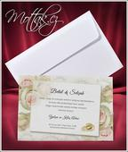 Svatební oznámení 2659 www.mottak.cz,