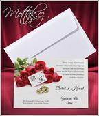 Svatební oznámení 2653 www.mottak.cz,