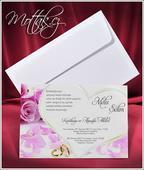 Svatební oznámení 2652 www.mottak.cz,