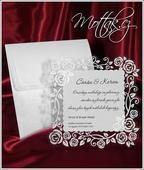Svatební oznámení 2545 www.mottak.cz,