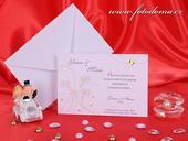 Svatební oznámení 3185 www.fotodoma.cz,