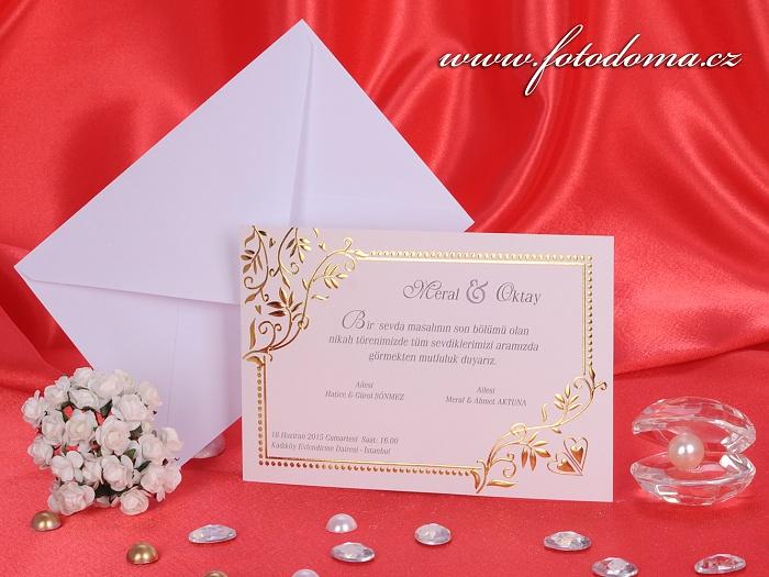 Svatební oznámení 3186 Mottak.cz s.r.o. - Obrázek č. 1