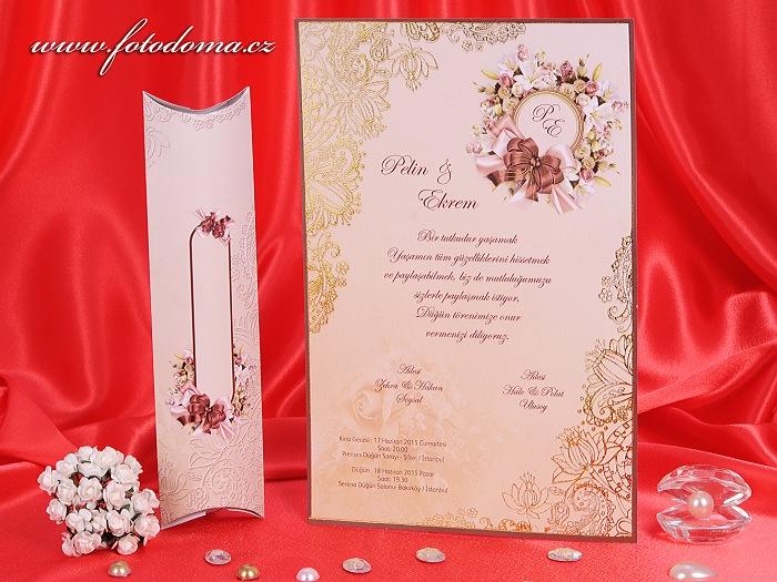 Svatební oznámení 3221 Mottak.cz s.r.o. - Obrázek č. 1