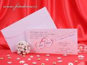 Svatební oznámení 3222 www.fotodoma.cz,