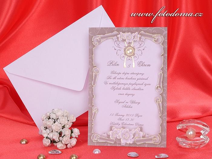 Svatební oznámení 3226 Mottak.cz s.r.o. - Obrázek č. 1