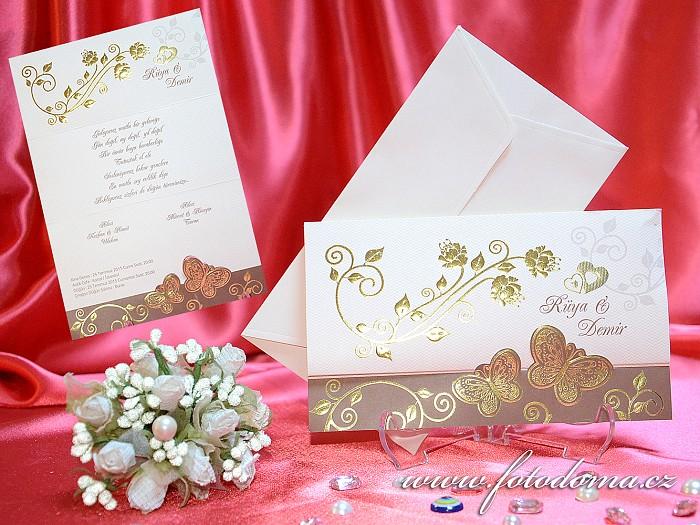 Svatební oznámení 3297 Mottak.cz s.r.o. - Obrázek č. 1