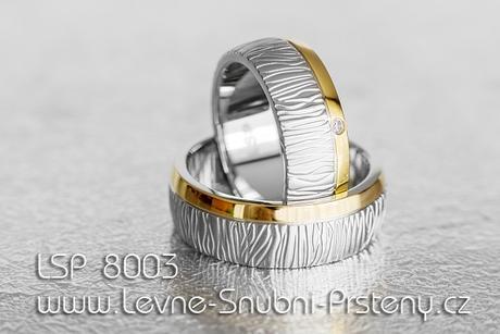 Snubní prsteny LSP 8003 - Obrázek č. 1