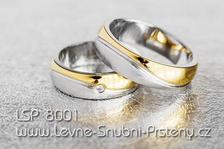 Snubní prsteny LSP 8001 - Obrázek č. 1
