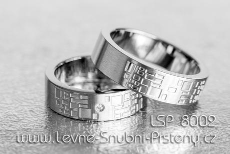 Snubní prsteny LSP 8002 - Obrázek č. 1