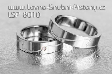 Snubní prsteny LSP 8010 - Obrázek č. 1