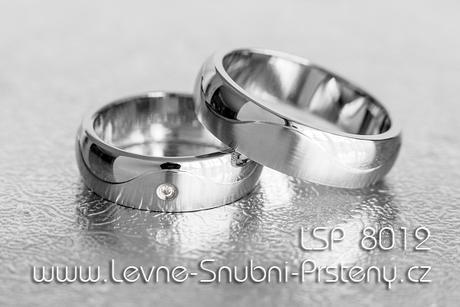 Snubní prsteny LSP 8012 - Obrázek č. 1
